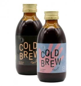 Cold brew Pure Black koffie 200ml (Columbia en Ethiopia)