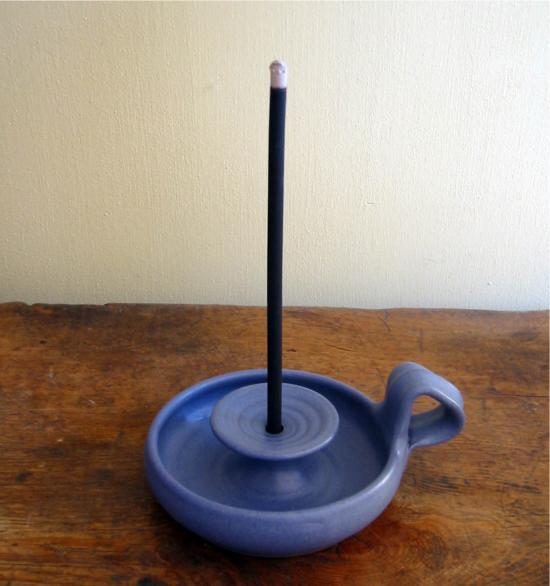 Incense bowl (blue Heike)