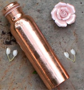 Copper water bottle Tamra Jal