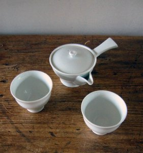 Kyusu teaset for two