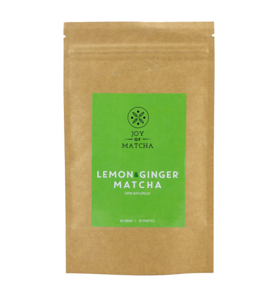 Lemon & Ginger Matcha