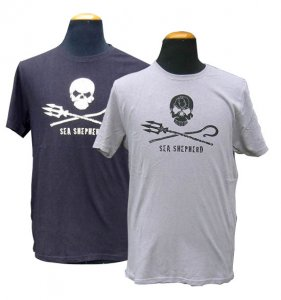 Men's Sea Shepherd Classic t-shirt (black)