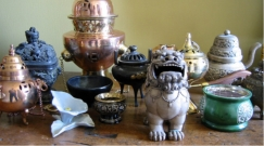 Incense burners, censers & vessels