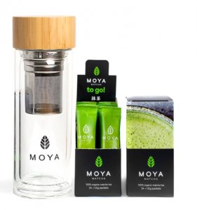 Moya Matcha to Go with Shaker