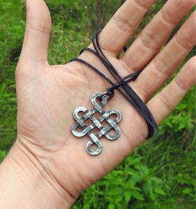 Oneindige knoop Keltisch (gesmeed)
