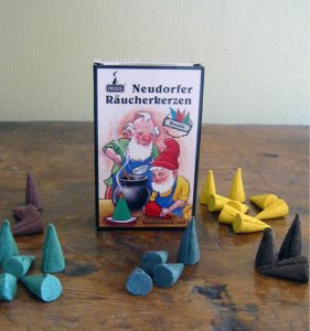 Original Neudorfer incense cones (mixed)