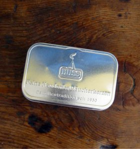 Original Neudorfer incense cones tin can (francinscense)