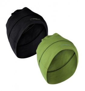Pocket hat (black & lime)