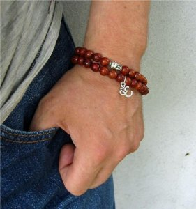 Power Bracelet Ohm & Buddha (wrap)