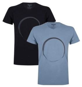 T shirt Moksha Zen Circle Gents (assorted colors)